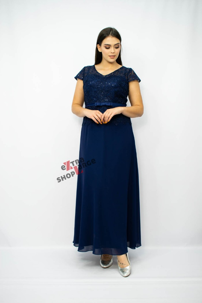 a90870621a Sukienka dla puszystych Caryca marki Pretty Woman wieczorowa